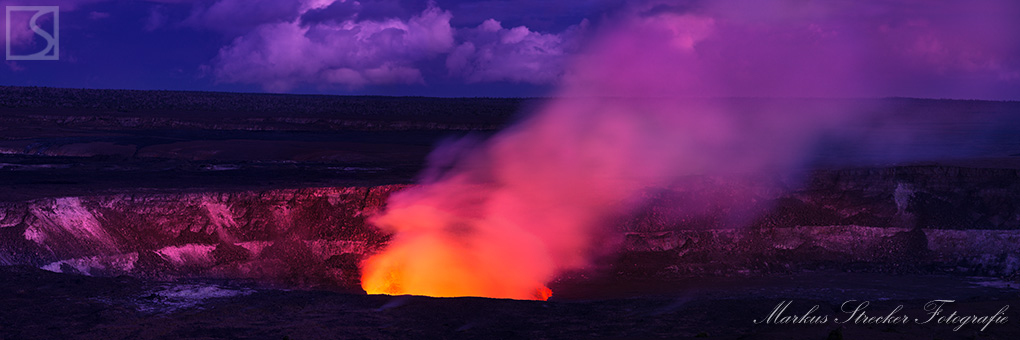 Volcanic Inferno Kilauea Big Island Hawaii