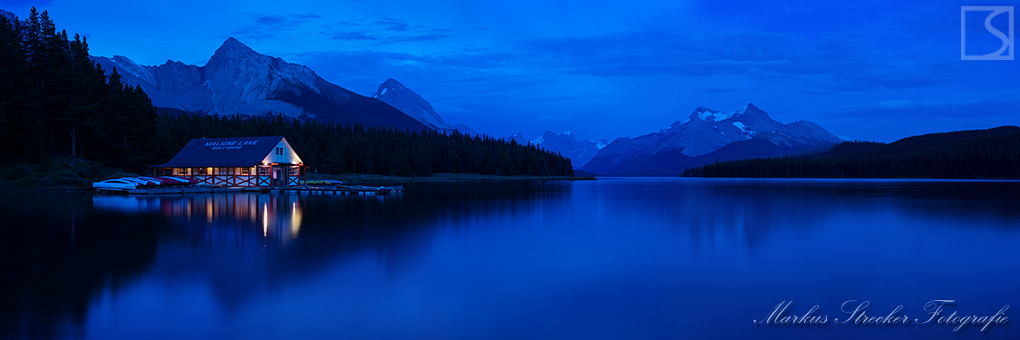 Maligne Lake Jasper National Park Rocky Mountains Kanada